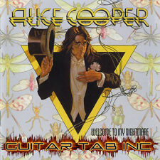Alice Cooper Digital Guitar & Bass Tab Welcome To My Nightmare Lessons on Disc