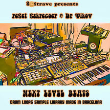 Next Level Beats library - drumloops good for techno, electronica,dubstep