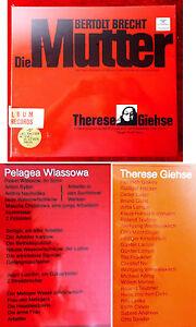 3LP Box Bertolt Brecht: Die Mutter - mit Therese Giehse - (DGG 2750 004) D
