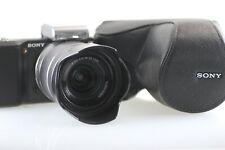 Sony Nex-3 Mirrorless Camera w/E 18-55mm F3.5-5.6 OSS Lens Case Low shuter 6476