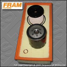 SERVICE KIT FIAT SCUDO 2.0 JTD FRAM OIL AIR FUEL FILTERS TECAFILTRES (1999-2006)