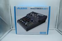 Alesis Multimix 4 USB FX Mixer 4-Channel Mixing Desk with USB Interface