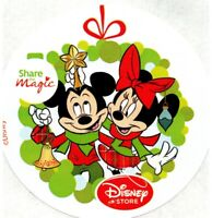 Disney Store Stickers Mickey Mouse Minnie Mouse Lot Of 10 Share The Magic 2012
