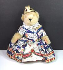"Muffy The Queen Of Hearts Bear Hoppy VanderHare VanderBear Plush 8"" w/ Tags"