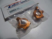 """GPM XV019 Alloy Front C-Hub Set """" Orange """" TAMIYA XV01"""