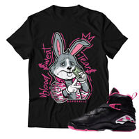 Blood Sweat Tears Unisex T-shirt Match Jordan Retro 8 G.S ''Pinksicle''
