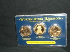 2009 Presidential gold dollar coin set William Henry Harrison (S proof) (D P)