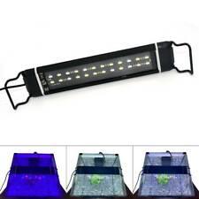 "Varmhus Rgb Led Aquarium Light 12-25"" Adjustable Color Plant Fish Tank Lamp"