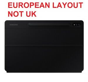 Genuine Samsung Galaxy Tab S7 + PLUS Keyboard Cover original tablet case