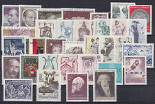 10 komplette Jahrgänge Österreich 1970-79 postfrisch**siehe 11 Bilder>