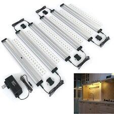 6PCS Under Cabinet Lighting LED Panel Kit Kitchen Shelf Counter Wardrobe Lamp