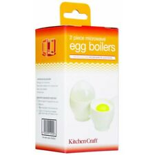 Kitchen Craft Set Of Two Microwave Egg Boilers - 2