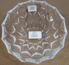 Lenox 8� Harlequin Lead Crystal Bowl Cut Glass New With Tag Excellent Condition