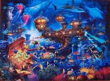 CEACO JIGSAW PUZZLE MAGICAL WORLD ATLANTIS EXPRESS CIRO MARCHETTI 750 PC #2994-9