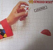 DRUKWERK - (N)IEMAND WINT - LP (original innersleeve)