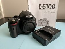 Nikon D5100 16.2MP Digital SLR Camera Body & Charge Low Shutter Count