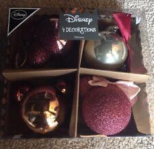 Disney Mickey Minnie Christmas Baubles Decorations New Primark