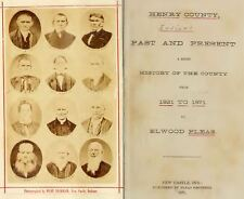 1871 HENRY County Indiana IN, History and Genealogy Ancestry Family Tree DVD B36