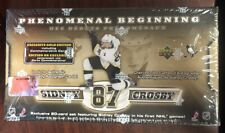 2005-06 UD novato fenomenal BEGINNING Sidney Crosby Caja 20 Tarjeta Set Nuevo Sellado