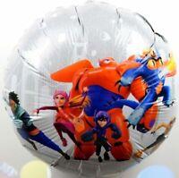 Baymax Helium Folienballons Hero Roboter Bot Marvel Geburtstag balloon NEU