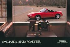 1992 Mazda Miata Roadster ORIGINAL Large Factory Postcard my1610
