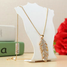 New Earring Necklace Acrylic Bust Showcase Holder Stand Jewelry Mini Display