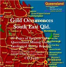 GOLD MINING & PROSPECTING REPORTS S.E.QLD + 35 Bonus Books