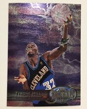 TYRONE HILL 1997-98 Metal Universe REEBOK Chase Promo # 96 Cleveland Cavaliers