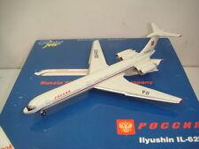 "Gemini Jets 400 Rossiya Russia State Transport Company IL-62M ""2000 color"" 1:400"
