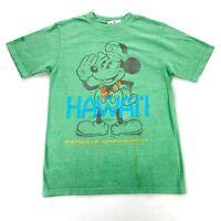 NEW Disney Cruise Line Mens Hawaii Inaugural Sailings 2012 T-Shirt Green • Small