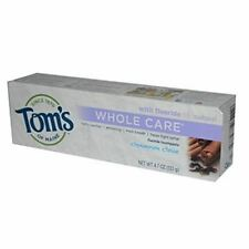 Tom's of Maine Whole Care Fluoride Natural Toothpaste, Cinnamon-Clove 4.7 oz
