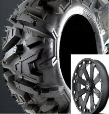 Set of (4) EFX 27-10-14 Moto-MTC ATV/UTV Tires Bighorn & MSA Rims Mounted
