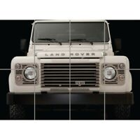 """Land Rover Defender Old Off-road Car Giant Wall Mural Art Poster Print 47x33"""""""