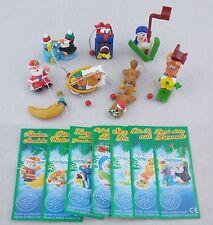 Pacchetto completo Natale 2004 con 7 BPZ Figurine natale Calendario avvento