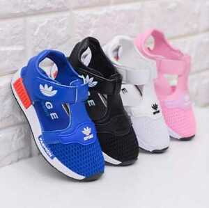 Kids Girls Boys Summer Close Toe Mesh Sandals Toddler Walk Sport Beach Shoes Hot
