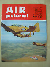 AIR PICTORIAL MAGAZINE JULY 1972 CANADA AIR FORCE HARVARD - CANADIAN PACIFIC