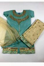 Girls party wear sharara/Lahenga Fits Indian Pakistani Bangali Kamez Dress 6-7yr