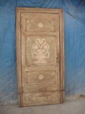 Porta antica laccata e dipinta a 1 battente -  XIX secolo