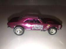 Custom Hot Wheels 67 Camaro Real Riders  Spectraflame Candy Stripe