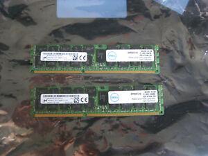 32 GB 2x16 Dell Certified SNP20D6FC/16G Micron MT36KSF2G72PZ-1G6E1FF PC3L-12800R
