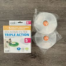 New listing Catit 43745 Triple Action Fountain Filter 2 Pack New in Package