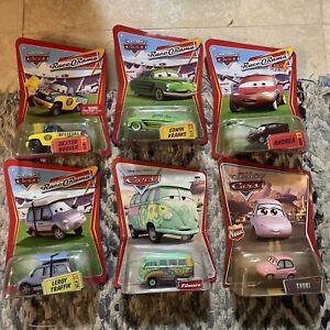 6 Disney Cars Lot Race O Rama 72 Kranks 71 Dexter 26 Traffik Chuki Filmore Deser