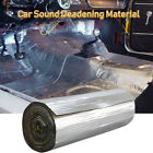 Car Insulation Sound Deadening Heat Shield Thermal Noise Proof Mat 80''x 39''  for sale