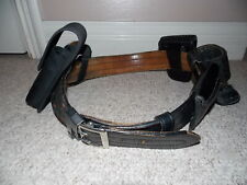Don Hume Model B101 Leather Duty Belt & Five Accessories