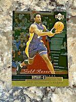 1999-00 Upper Deck Gold Reserve Kobe Bryant #101 LA Lakers Basketball Card