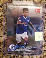 2018-19 Topps Chrome Bundesliga Weston McKennie RC Rookie Transfer to Juventus