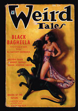 January 1935 WEIRD TALES - Margaret Brundage  Clark Ashton Smith Robert Bloch