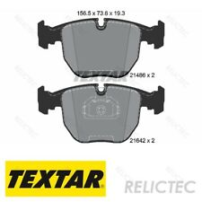 Fits BMW 7 Series E65 E66 E67 745i Li Genuine OE Textar Rear Brake Pads Set