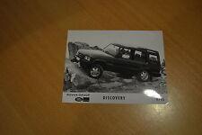 PHOTO DE PRESSE ( PRESS PHOTO ) Land Rover Discovery de 1993 R0147