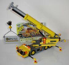 camion chantier grue compatible lego briques